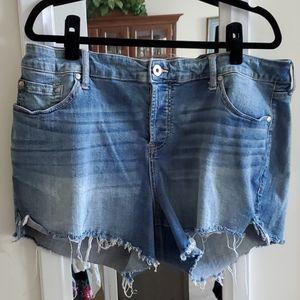 Torrid Jean Short Shorts